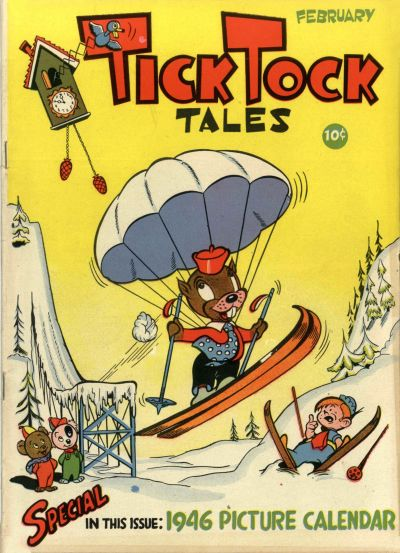 Cover for Tick Tock Tales (Magazine Enterprises, 1946 series) #2