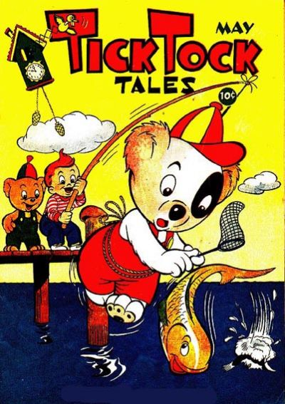 Cover for Tick Tock Tales (Magazine Enterprises, 1946 series) #5