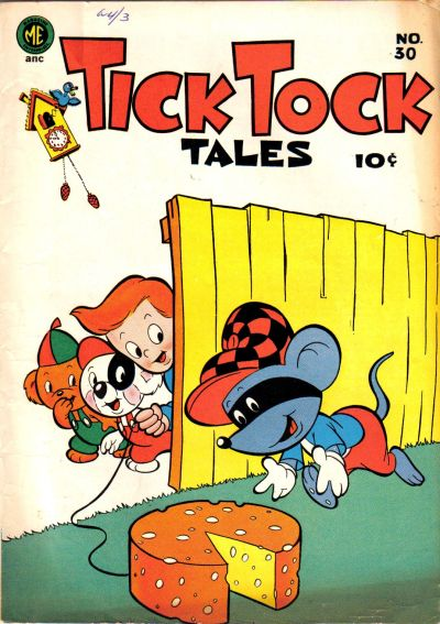 Cover for Tick Tock Tales (Magazine Enterprises, 1946 series) #30