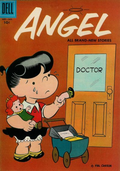 Cover for Angel (Dell, 1954 series) #8