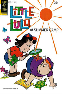 Cover Thumbnail for Little Lulu (Western, 1972 series) #213 [Gold Key Variant]