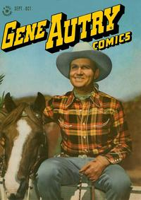 Cover Thumbnail for Gene Autry Comics (Dell, 1946 series) #9