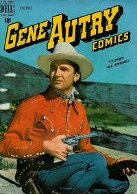 Cover Thumbnail for Gene Autry Comics (Dell, 1946 series) #34
