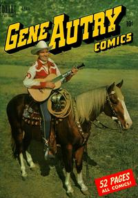 Cover Thumbnail for Gene Autry Comics (Dell, 1946 series) #38