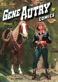 Cover Thumbnail for Gene Autry Comics (Dell, 1946 series) #44