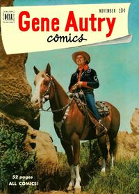 Cover for Gene Autry Comics (Dell, 1946 series) #45