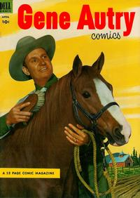 Cover Thumbnail for Gene Autry Comics (Dell, 1946 series) #74
