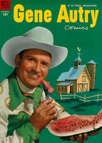 Cover Thumbnail for Gene Autry Comics (Dell, 1946 series) #79