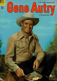Cover Thumbnail for Gene Autry Comics (Dell, 1946 series) #85