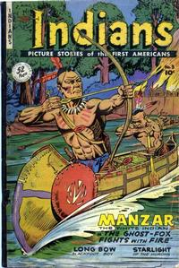 Cover Thumbnail for Indians (Fiction House, 1950 series) #3