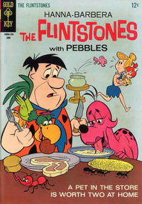 Cover Thumbnail for The Flintstones (Western, 1962 series) #40