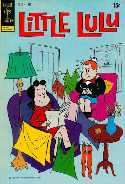 Cover for Little Lulu (Western, 1972 series) #208 [20¢ variant]
