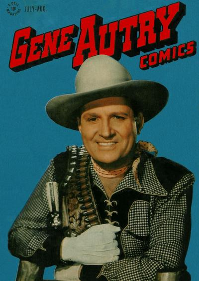 Cover for Gene Autry Comics (Dell, 1946 series) #8