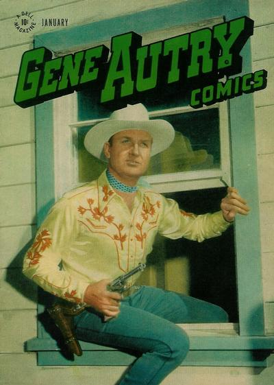 Cover for Gene Autry Comics (Dell, 1946 series) #11