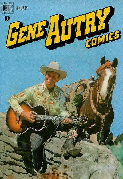 Cover for Gene Autry Comics (Dell, 1946 series) #23