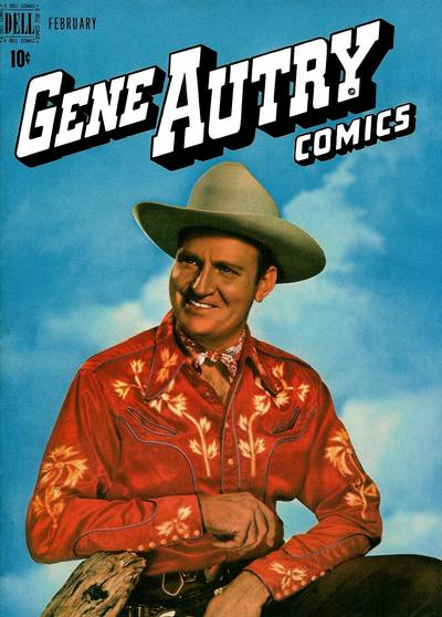 Cover for Gene Autry Comics (Dell, 1946 series) #24