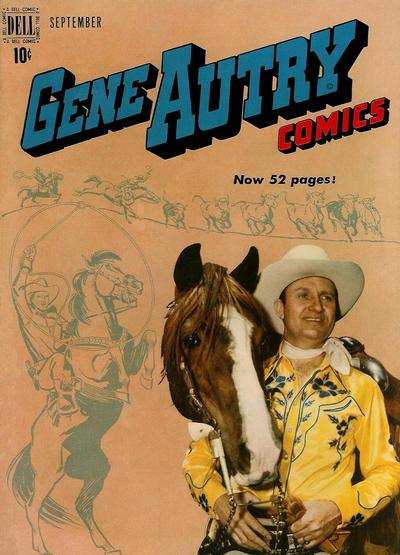 Cover for Gene Autry Comics (Dell, 1946 series) #31