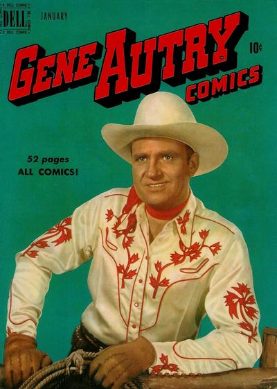 Cover for Gene Autry Comics (Dell, 1946 series) #35