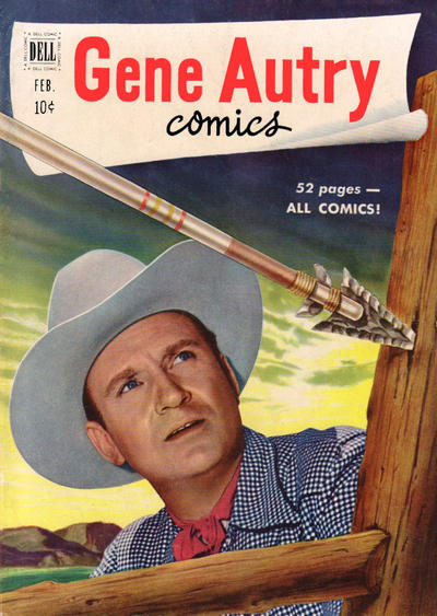 Cover for Gene Autry Comics (Dell, 1946 series) #48