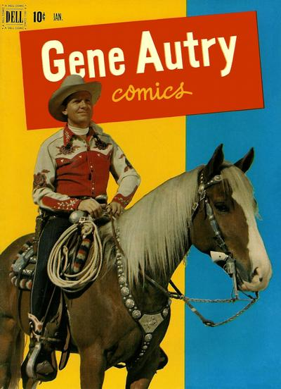 Cover for Gene Autry Comics (Dell, 1946 series) #59