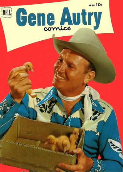 Cover for Gene Autry Comics (Dell, 1946 series) #62