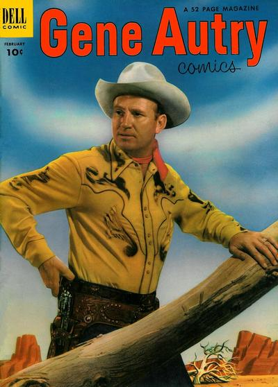 Cover for Gene Autry Comics (Dell, 1946 series) #72