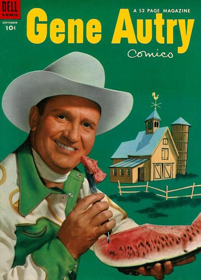 Cover for Gene Autry Comics (Dell, 1946 series) #79