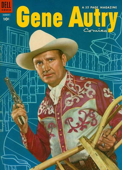 Cover for Gene Autry Comics (Dell, 1946 series) #90