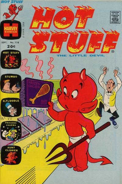 Cover for Hot Stuff, the Little Devil (Harvey, 1957 series) #118