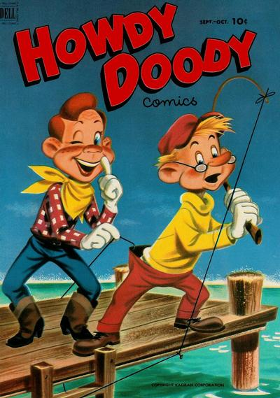 Cover for Howdy Doody (Dell, 1950 series) #18