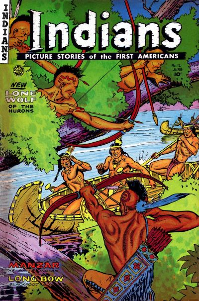 Cover for Indians (1950 series) #12