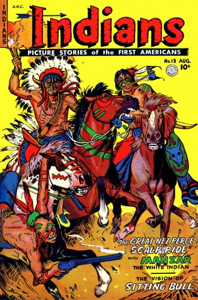 Cover for Indians (Fiction House, 1950 series) #13