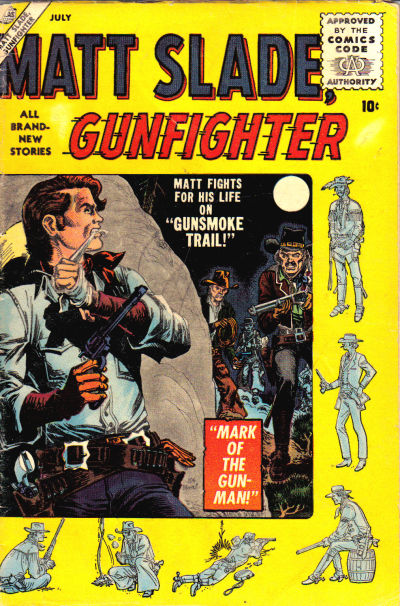 Cover for Matt Slade, Gunfighter (Marvel, 1956 series) #2