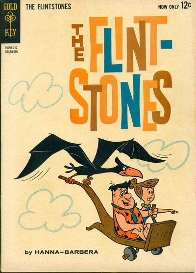 Cover for The Flintstones (Western, 1962 series) #8