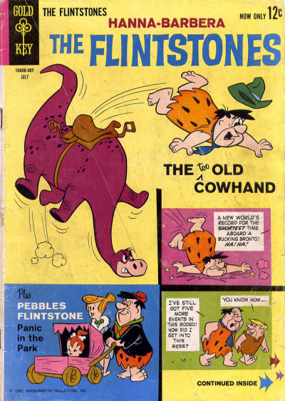 Cover for The Flintstones (Western, 1962 series) #12