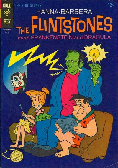 Cover for The Flintstones (1962 series) #33