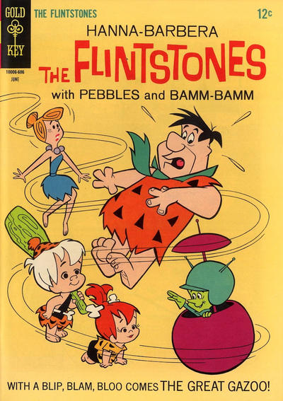 Cover for The Flintstones (Western, 1962 series) #34