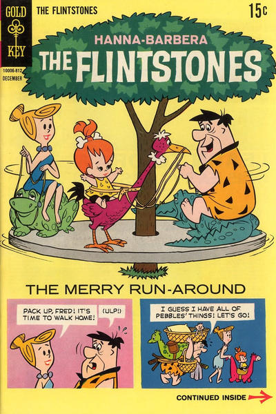 Cover for The Flintstones (Western, 1962 series) #49
