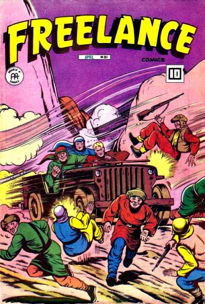 Cover for Freelance Comics (Anglo-American Publishing Company Limited, 1941 series) #31