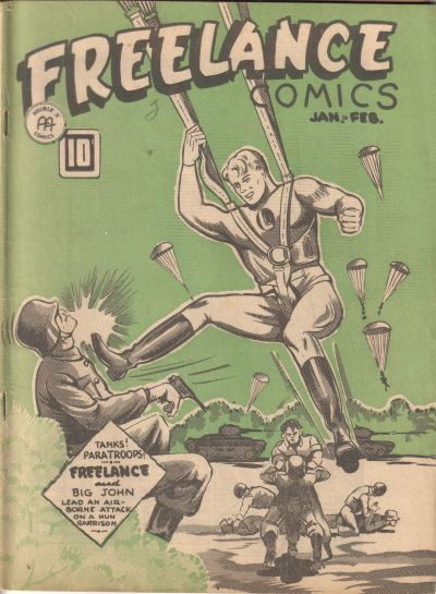 Cover for Freelance Comics (Anglo-American Publishing Company Limited, 1941 series) #v2#6