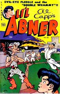 Cover Thumbnail for Al Capp's Li'l Abner (Toby, 1949 series) #83