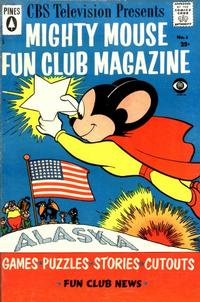 Cover for Mighty Mouse Fun Club Magazine (Pines, 1957 series) #6