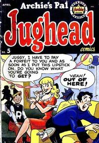 Cover Thumbnail for Archie's Pal Jughead (Archie, 1949 series) #5