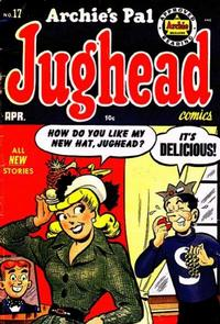 Cover Thumbnail for Archie's Pal Jughead (Archie, 1949 series) #17