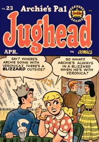 Cover Thumbnail for Archie's Pal Jughead (Archie, 1949 series) #23