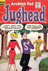 Cover Thumbnail for Archie's Pal Jughead (Archie, 1949 series) #54
