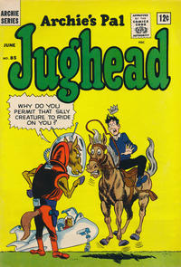 Cover Thumbnail for Archie's Pal Jughead (Archie, 1949 series) #85