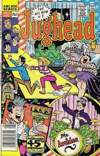 Cover Thumbnail for Jughead (Archie, 1987 series) #1 [Newsstand]