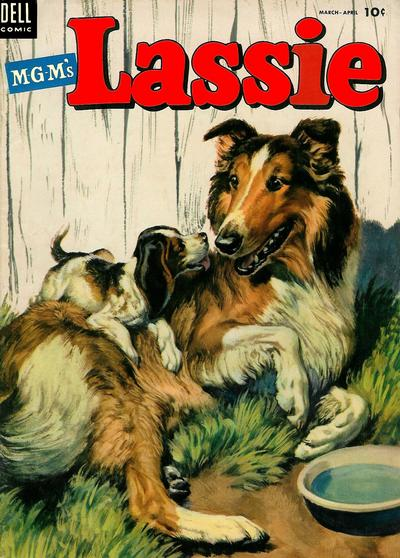 Cover for M-G-M's Lassie (Dell, 1950 series) #15