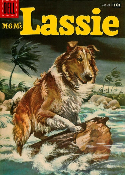 Cover for M-G-M's Lassie (Dell, 1950 series) #34